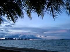 Sonnenuntergang Penang Malaysia