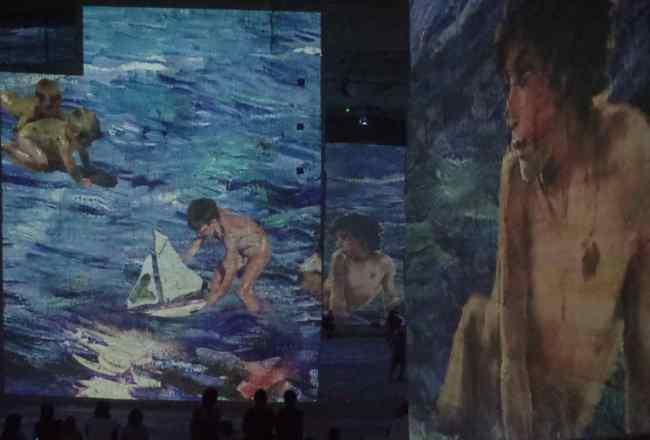 Soroya en la exposición Picasso y los maestros españoles