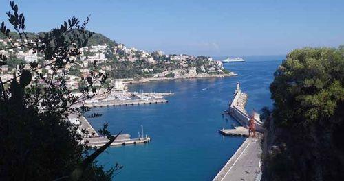Puerto de Niza, desde el Castillo
