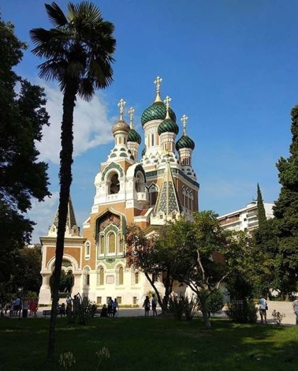 Catedral rusa de Niza