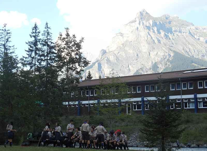 International Scout Centre, Kandersteg, Suiza