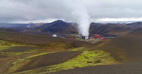 Central de Energía Geotérmica de Krafla