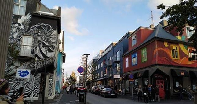 Calle Laugavegur, Reikiavik