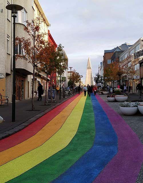 Calle Skólavörðustígu, Reikiavik