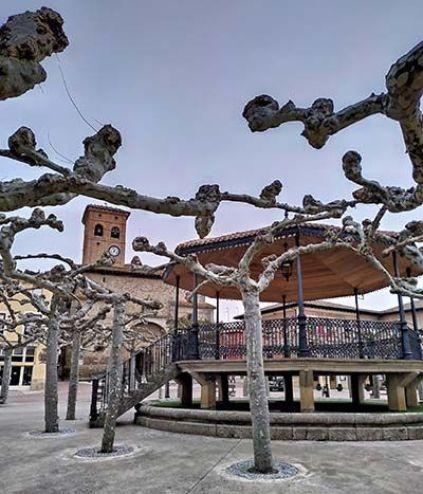 Plaza Mayor de Belorado
