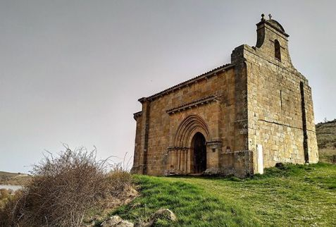 Románico palentino, ermita de Santa Eulalia