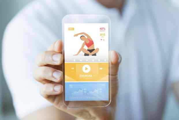 Download an app to help workout on vacation