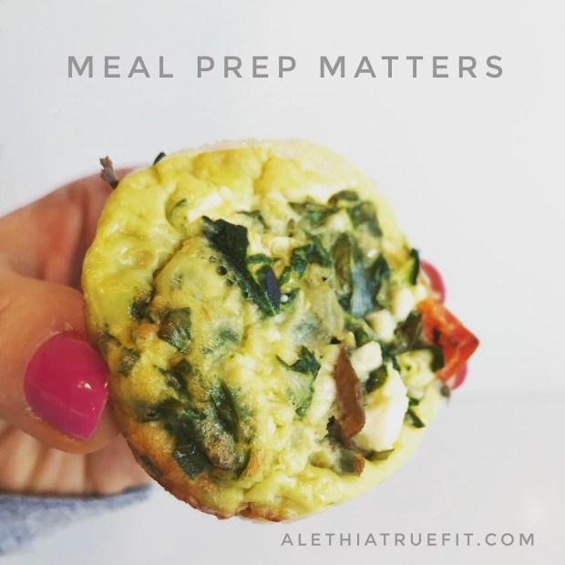 Broccoli and Feta Vegetable Frittata by Alethia True Fit By You