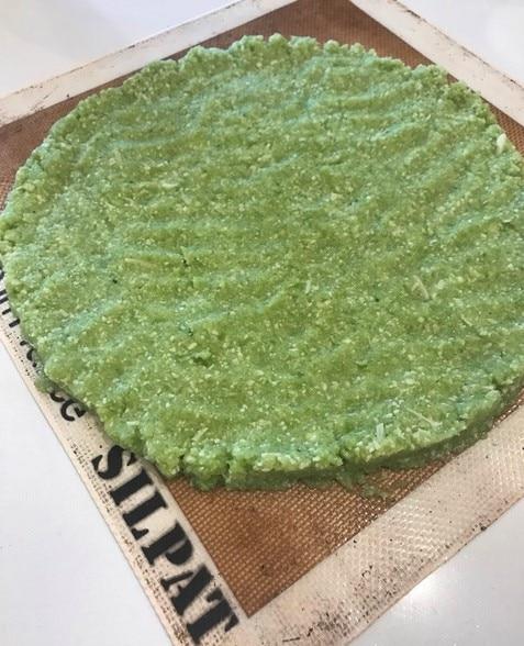 Broccoli Pizza Crust by Alethia