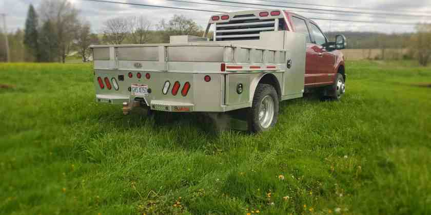 Vertical box Skirted Flatbed