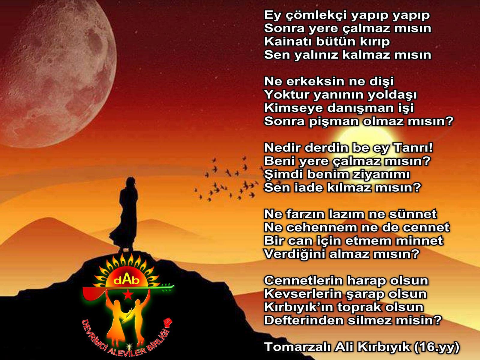 Alevi Bektaşi Kızılbaş Pir Sultan İslam dışı Atatürk faşist ehlibeyt 12 imam Devrimci Aleviler Birliği DAB canakci