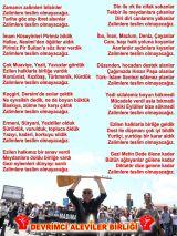 Alevi Bektaşi Kızılbaş Pir Sultan Devrimci Aleviler Birliği DAB DAB teslim olmayacagiz hgm dedesaz