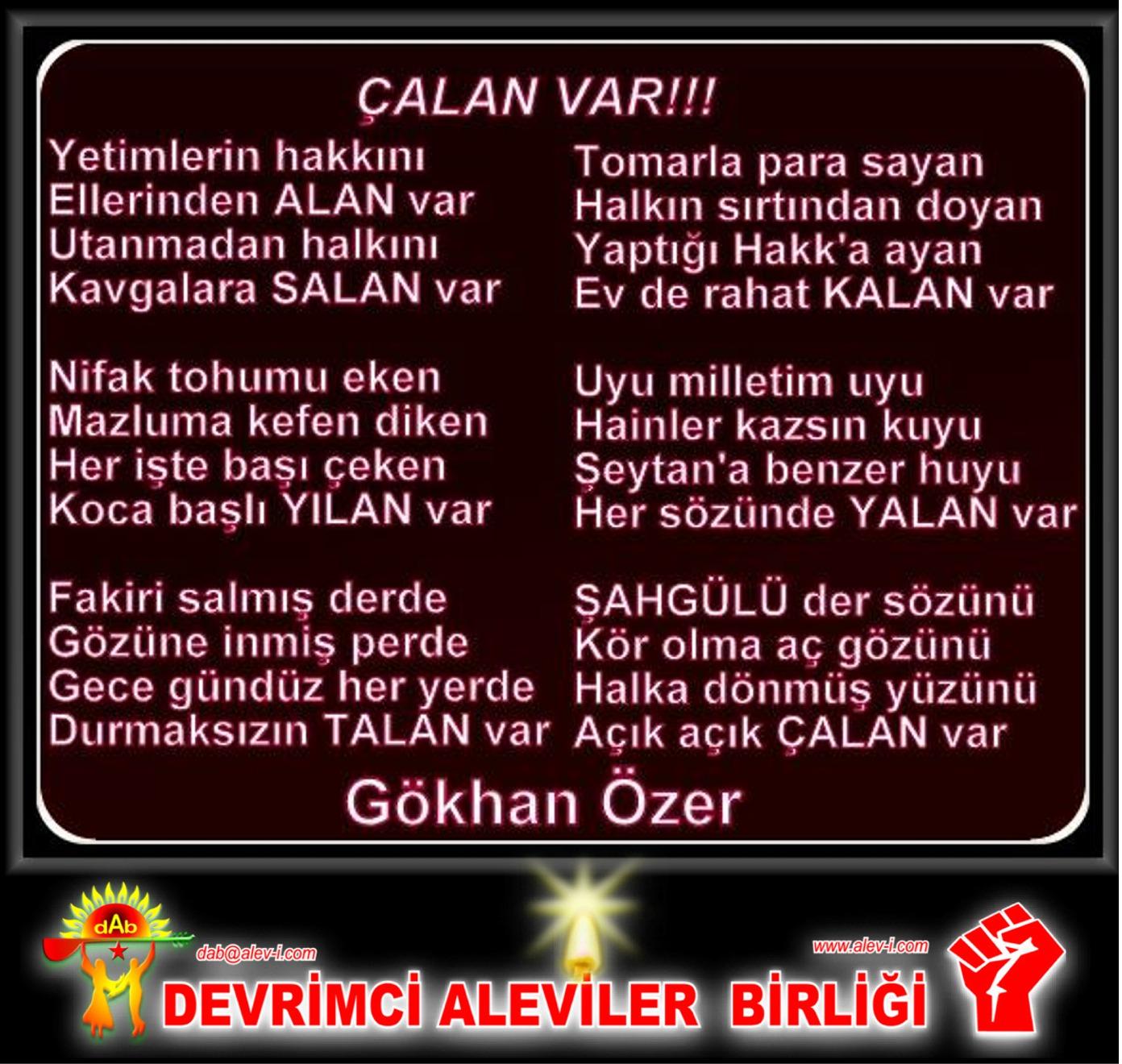Alevi Bektaşi Kızılbaş Pir Sultan Devrimci Aleviler Birliği DAB calan var