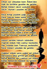 Alevi Bektaşi Kızılbaş Pir Sultan Devrimci Aleviler Birliği DAB geldim