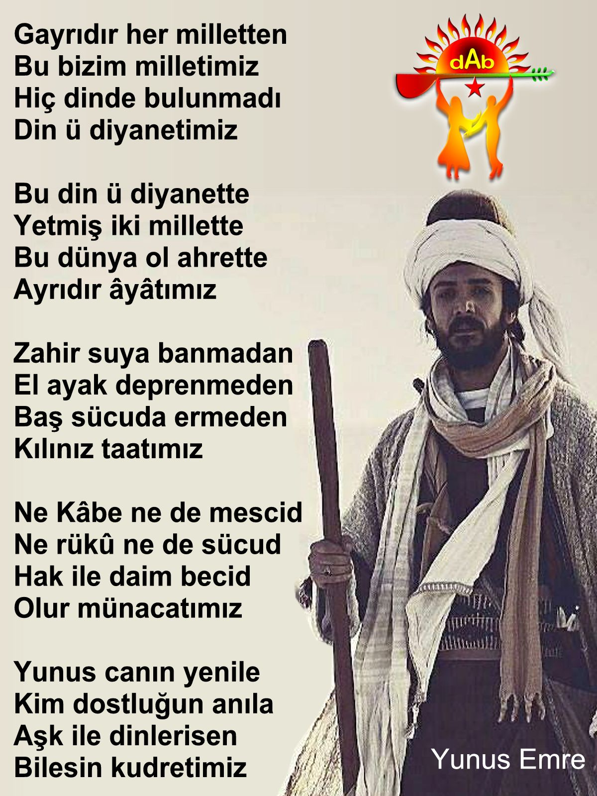 Alevi Bektaşi Kızılbaş Pir Sultan Devrimci Aleviler Birliği DAB haram yunus emre