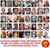 Devrimci Aleviler Birliği DAB Alevi Kızılbaş Bektaşi pir sultan cem hz Ali 12 imam semah Feramuz Şah Acar 40larSON