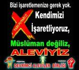 Devrimci Aleviler Birliği DAB Alevi Kızılbaş Bektaşi pir sultan cem hz Ali 12 imam semah Feramuz Şah Acar Bizi isaretlemenize gerek yok müslüman degiliz Aleviyiz