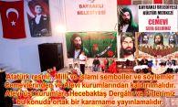 Devrimci Aleviler Birliği DAB Alevi Kızılbaş Bektaşi pir sultan cem hz Ali 12 imam semah Feramuz Şah Acar alevi dernek cemevi ataturk bayrak islam kaldirilmalidir