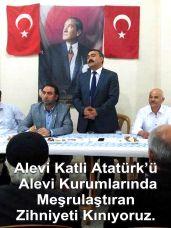Devrimci Aleviler Birliği DAB Alevi Kızılbaş Bektaşi pir sultan cem hz Ali 12 imam semah Feramuz Şah Acar ataput turgut zihniyet kina