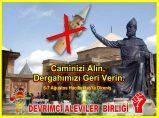 Devrimci Aleviler Birliği DAB Alevi Kızılbaş Bektaşi pir sultan cem hz Ali 12 imam semah Feramuz Şah Acar caminizi alin dergahimizi verin