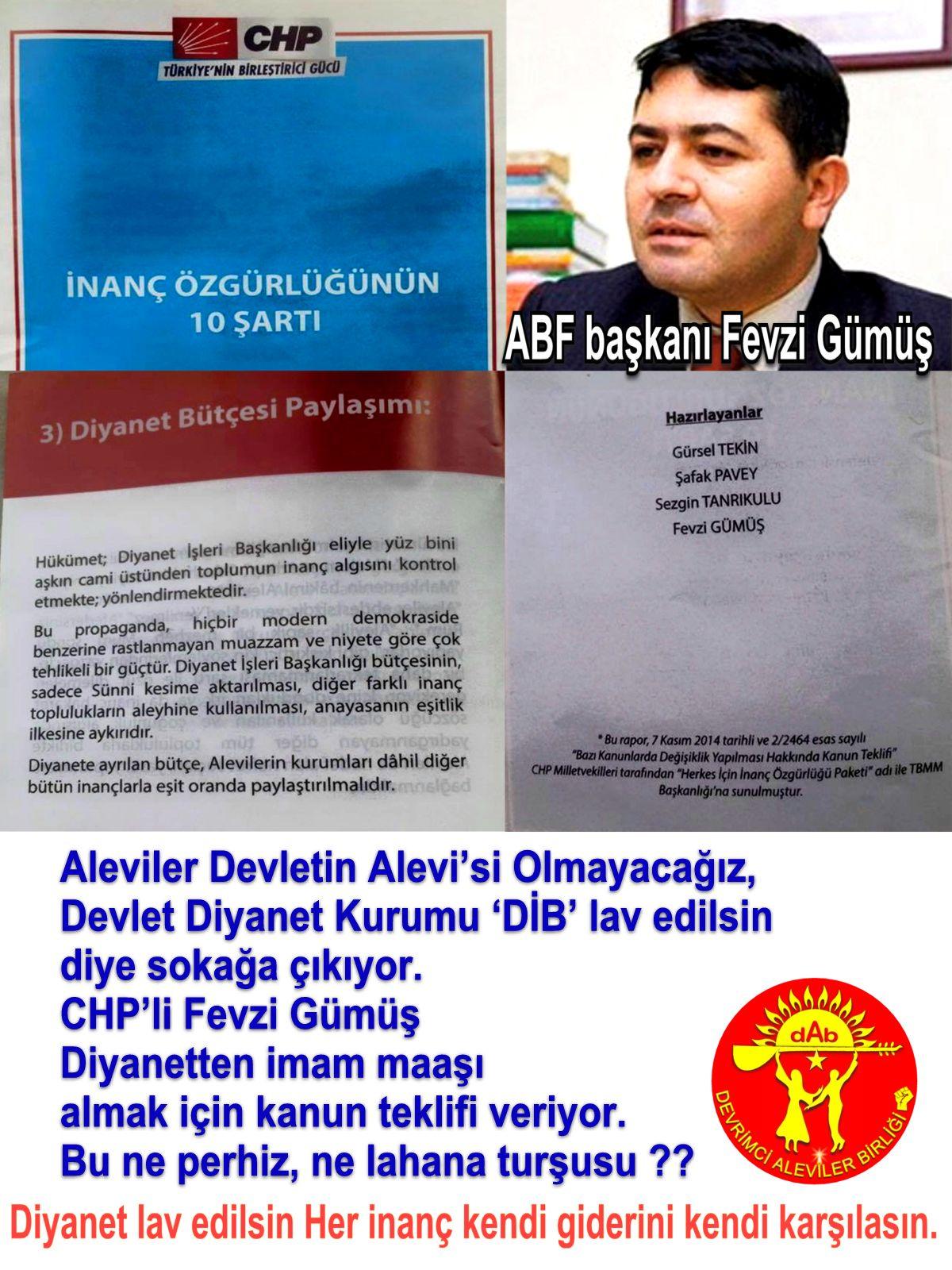Devrimci Aleviler Birliği DAB Alevi Kızılbaş Bektaşi pir sultan cem hz Ali 12 imam semah Feramuz Şah Acar fevzi gumus diyanet