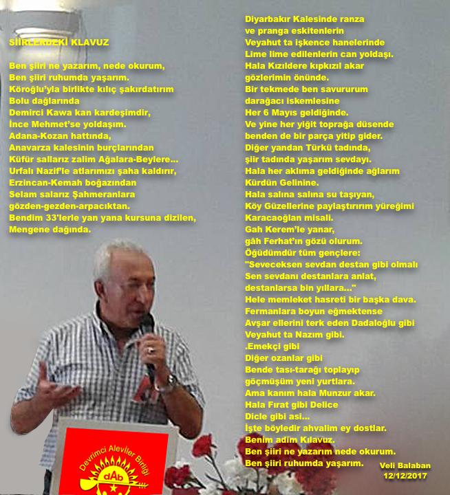 Devrimci Aleviler Birliği DAB Alevi Kızılbaş Bektaşi pir sultan cem hz Ali 12 imam semah Feramuz Şah Acar ibo pir