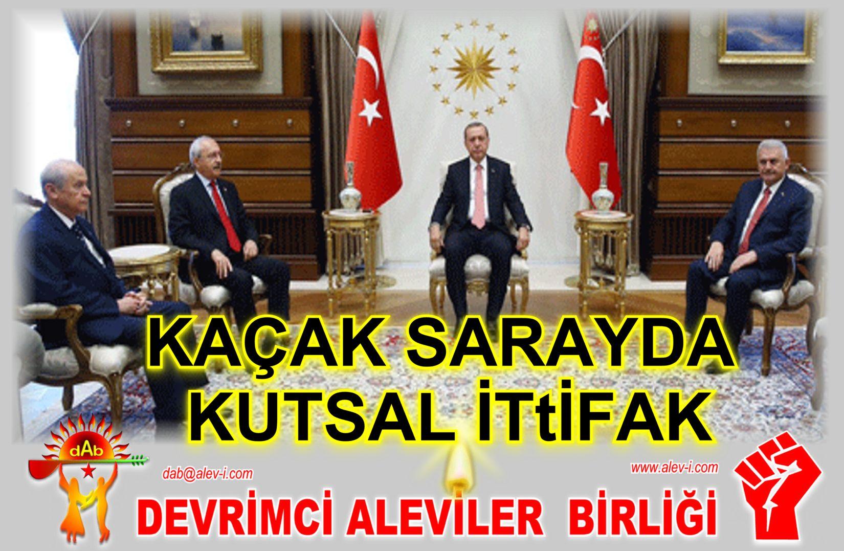 Devrimci Aleviler Birliği DAB Alevi Kızılbaş Bektaşi pir sultan cem hz Ali 12 imam semah Feramuz Şah Acar liderler-zirvesi-1 kacak saray chp ittifak
