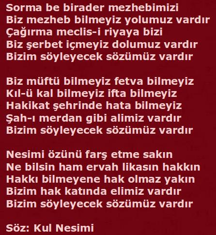 Devrimci Aleviler Birliği DAB Alevi Kızılbaş Bektaşi pir sultan cem hz Ali 12 imam semah Feramuz Şah Acar nesimixxx