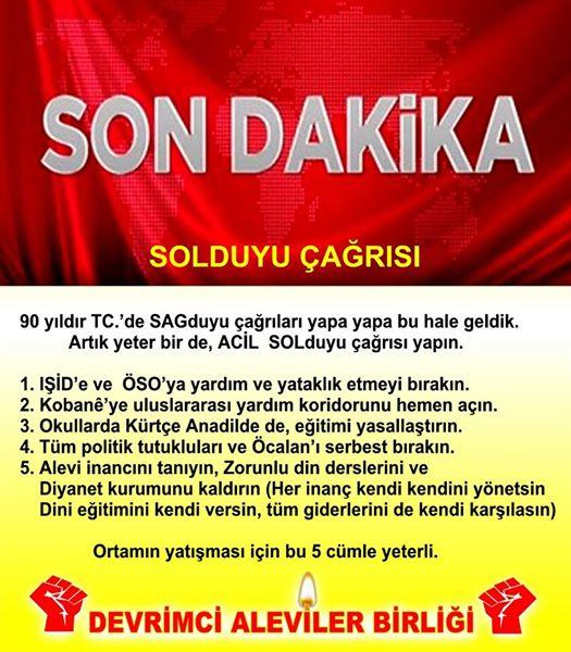 Devrimci Aleviler Birliği DAB Alevi Kızılbaş Bektaşi pir sultan cem hz Ali 12 imam semah Feramuz Şah Acar photo_401409583340770