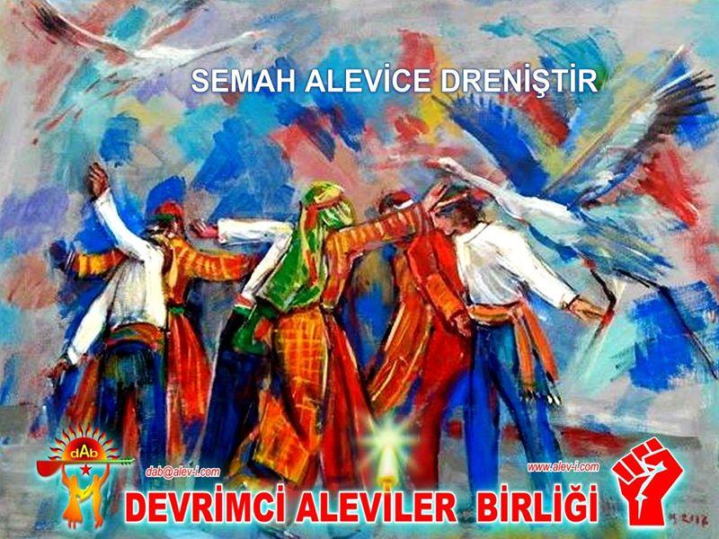 Devrimci Aleviler Birliği DAB Alevi Kızılbaş Bektaşi pir sultan cem hz Ali 12 imam semah Feramuz Şah Acar photo_643884755759917