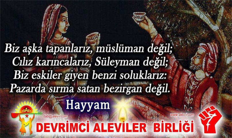 Devrimci Aleviler Birliği DAB Alevi Kızılbaş Bektaşi pir sultan cem hz Ali 12 imam semah Feramuz Şah Acar photo_672720392876353