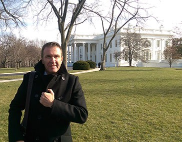 Jean-Claude Beney of Alevo at the White House