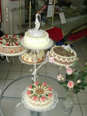 Die Varianten-Hochzeitstorte