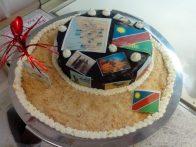 Afrika Torte zum runden Geburtstag