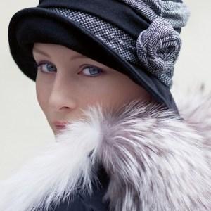 Foto del turbante Vega de Ellen Wille