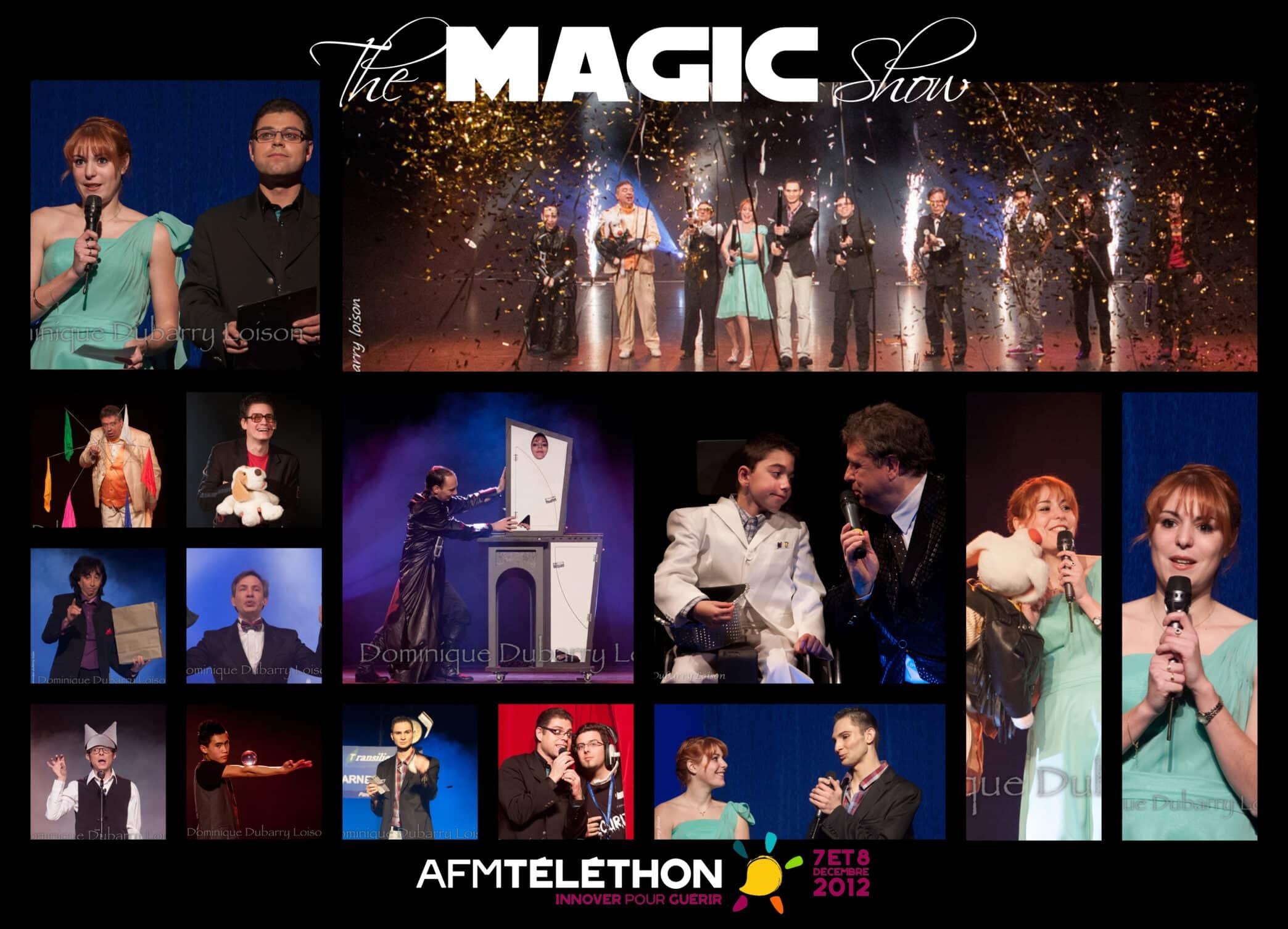 The Magic Show - spectacle de magie Téléthon