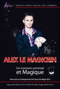 Alex magicien close-up magicien essonne 91 Frankel Delight Day