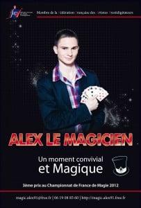 Alex magicien close-up magicien essonne 91 Frankel Delight Day