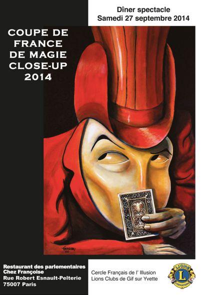 coupe de france de close-up magie