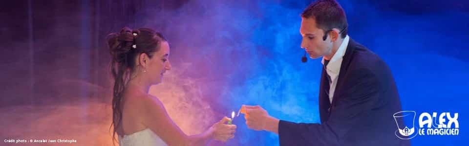 Spectacle de magie Magicien mariage animation magie