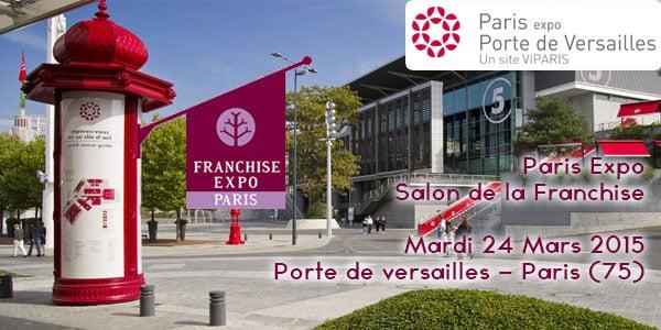 Paris expo salon de la franchise versailles
