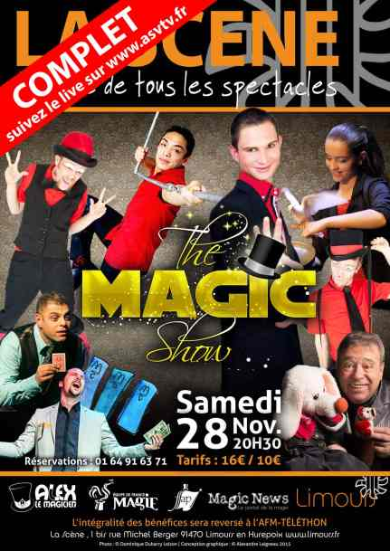 spectacle de magie the magic show complet