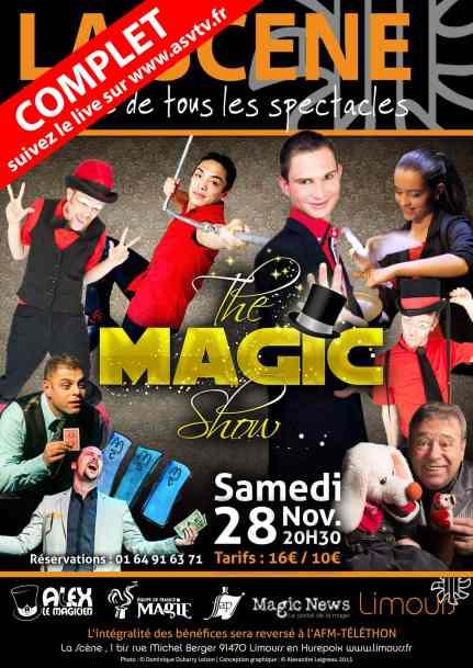 spectacle de magie the magic show complet