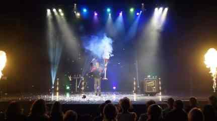 Vincent Angel magicien du feu normandie