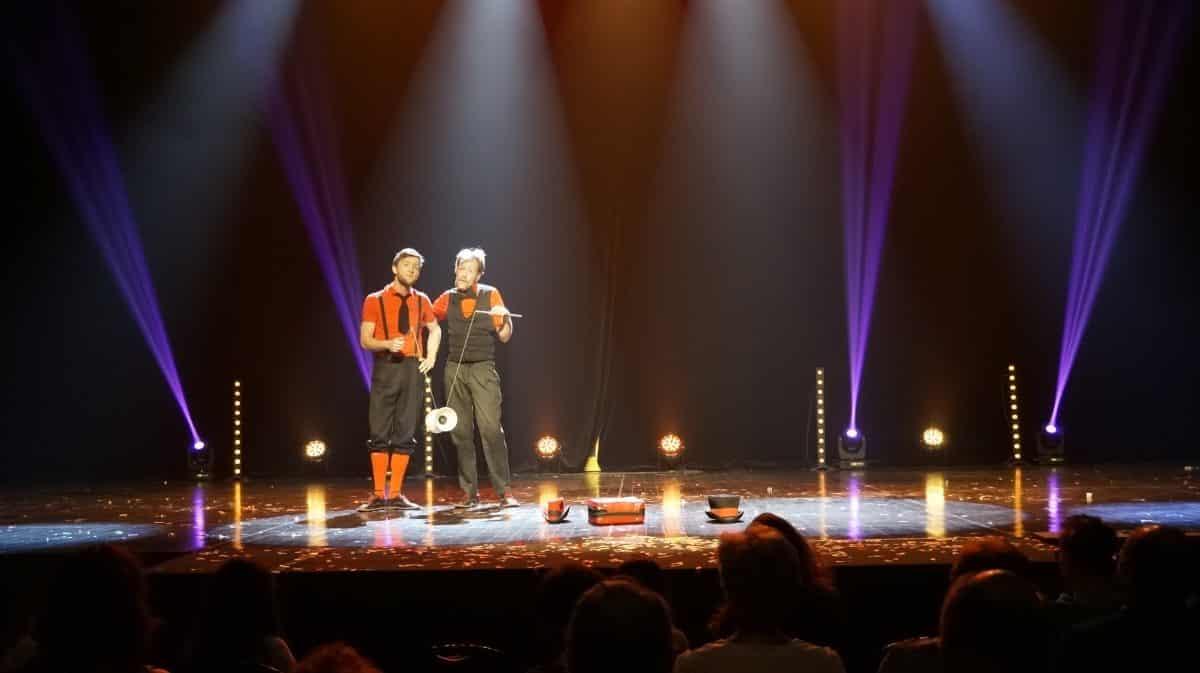 Zigor & Gus clown jongleur de diabolo