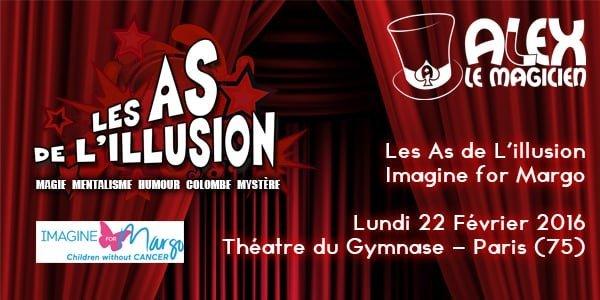 spectacle de magie théâtre du gymnase imagine for margo