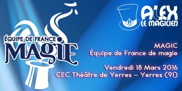 spectacle CEC theatre yerres magie equipe de france