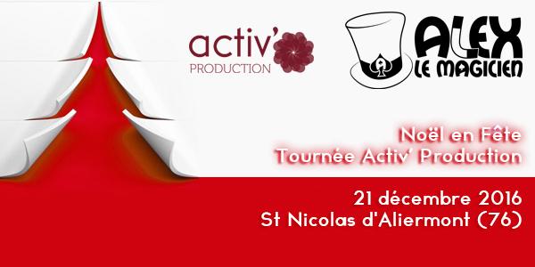 St Nicolas d'Aliermont Noel en fête magie
