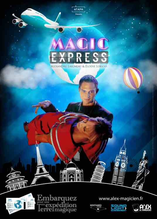 Affiche Magic Express - Expédition en terre magique