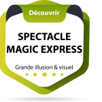 logo spectacle magic express ok